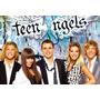 Cuadro De Casi Angeles - Serie Teen Angels - En Bastidor