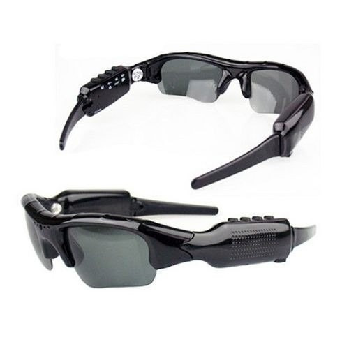 ddb13b607bbf3 Óculos De Sol Espião Camera Espiã Filma Discreto - R  75