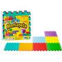 Tapete De Atividades Colorido Liso Eva Pcs Nig Brinquedos