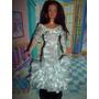 Vestido De Fiesta Novia Para Barbie Princesa Muñeca