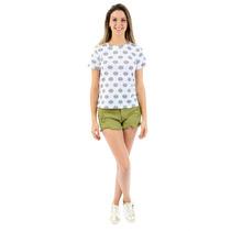 Blusa Feminina Estampada Coleção Verão 2016/17