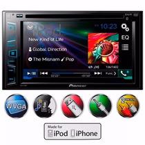 Dvd Pioneer Avh-288bt 2din Bluetooth Mp3 Central Multimidia
