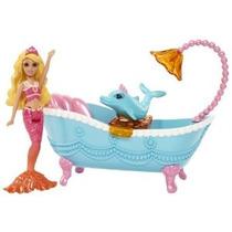 Barbie La Princesa Perla Pequeño Doll Furniture Set Blue