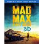Filme Em Blu-ray 3d: Mad Max - Estrada Da Fúria - Lançamento