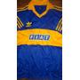Camiseta Retro De Boca Juniors Fiat Titular