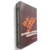 Livro Licitação E Contrato Administrativo - Hely L Meirelles