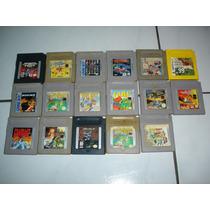 Fitas Jogo Nintendo Gameboy Color Advance Gb Gbc Gba