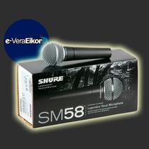 Microfono Shure Sm58 Original Distribuidor Oficial, Oferta