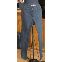 Umbrale Jeans Pantalones Pitillos Algodon/spandex 38
