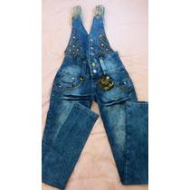 Macacão Jeans Pit Bull - Frete Grátis
