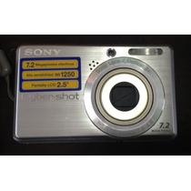 Cámara Digital Sony 7.2 Megapixel