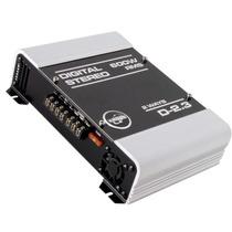 Modulo Amplificador Digital Boog D-2.3 600wrms 2 Canais
