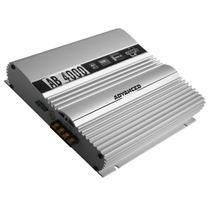 Amplificador Boog Ab4000 4 Canais 280w + Frete Grátis