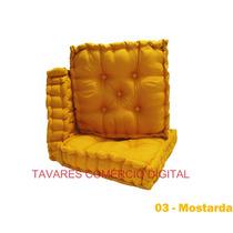 Almofada Futon Turca 50x50 Decorativas Promoção