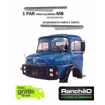 Par Friso Porta Tapete Caminhão Mb 1113 1114 1513 2013