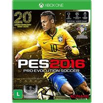 Pro Evolution Soccer 2016 Pes 16 Xbox One Mídia Física Pt Br