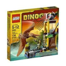 Juguetes Lego Dino Torre Takedown 5883 Amarillo
