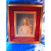 El Arcon Cuadro Enmarcado Dorado Lamina De Jesus 5005