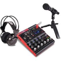 Jammin Studiopack702 Mezclador 7 Canales Usb Studiopack-702