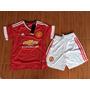 Conjunto Kit De Niños Manchester United 2016