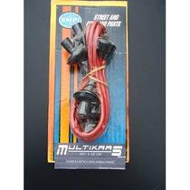 Vocho Cables De Bujias Rojos Empi Silicon 7mm