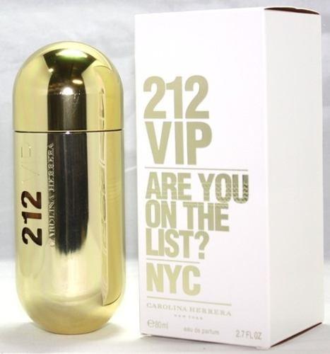 068ccb626 Perfume 212 Vip Feminino 80ml - Original - R  244