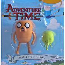 Hora Da Aventura: Jake E Trunks 8cm Adventure Time Multikids