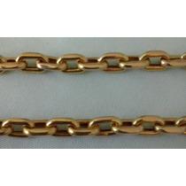 Cordao Modelo Cadeado (oco) Em Ouro 18k 750