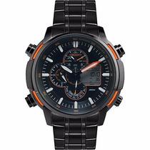 Relógio Orient Masculino Anadigi Mundi Mpssa004 Oferta