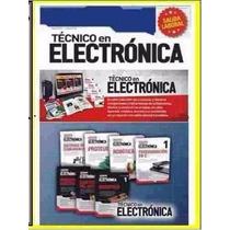 Colección Técnico En Electrónica.circuitos,reparacion +envío