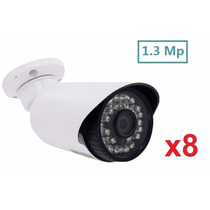 Kit 8 Câmeras Segurança Infra Ahd- M 1.3 Mp Ir-cut 3.6mm(1)