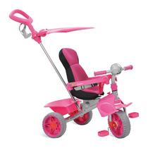 Triciclo Infantil Smart Comfort Rosa Frete Grátis