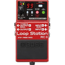Pedal De Loop Boss Rc-3 Loop Station - Frete Grátis Rc 3