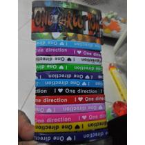 Pulseras Silicona One Direction Perfumadas X 12 !!!! Nuevas