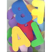 Alfabeto Completo Em E.v.a. 13cm Cada Letra - 26 Letras