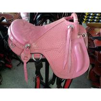 Sela Australiana Hipica - Cavalo - Assento Rosa