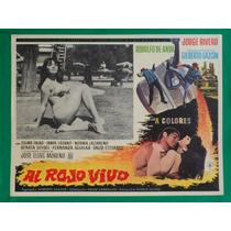 Jorge Rivero Al Rojo Vivo Zulma Faiad Bikini Cartel De Cine