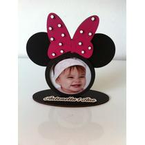 Porta Retrato Personalizado Infantil Minnie Tamanho Pequeno