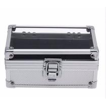 Caja De Aluminio Para Guardar/exhibir Relojes Cap. 3 Relojes