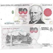 Billete 50 Pesos Convertibles Primer Diseño Serie A Excelent