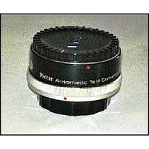 Lente Tele-convertidor Vivitar 2x-4 Para Lentes Canon Fl-fd