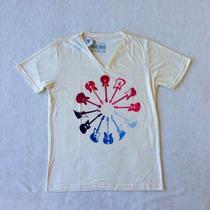Camiseta T-shirt - Doc Dog Em Flamê - Guitarras