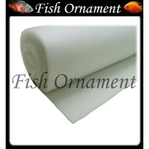 Manta Acrílica Perlon Filtros De Aquário Lago Fish Ornament
