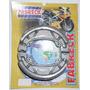 Patim Lona De Freio Honda Nx-350 Sahara Cbx-200 Strada Xr200