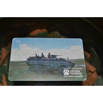 Cartão Telefônico Raro Série Exército Brasileiro 1996
