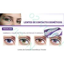 Pupilentes Lentes Contacto Moda Freshlook Colorblends Vbf