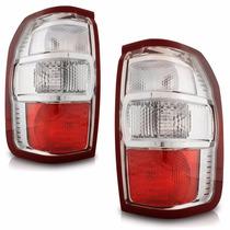 Lanterna Traseira Ranger 2010 2011 2012 2013 Cristal
