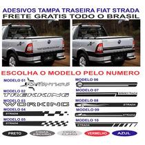 Acessorios Faixa Tampa Traseira Strada Working Adverture