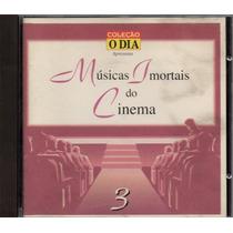 =cd Coleção O Dia - Músicas Imortais Do Cinema - Volume 3