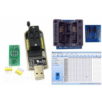 Kit Gravador Flash Eprom Spi Bios 24xx 25xx C/ Soic8 200mil
